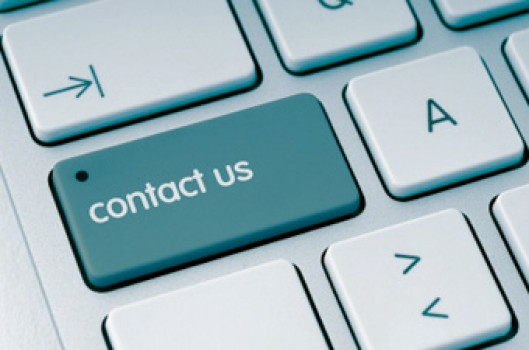 contact us button on keyboard
